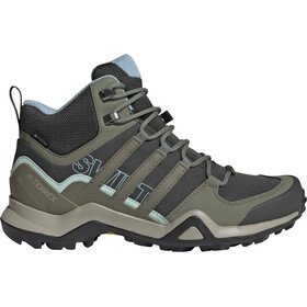 adidas TERREX Swift R2 Mid Gore-Tex Wandelschoenen Dames, legend earth/legacy green/ash grey